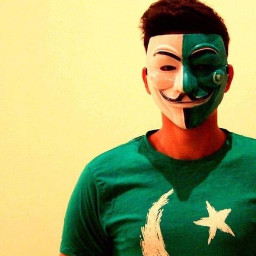 pakistani pakistan flag face smile