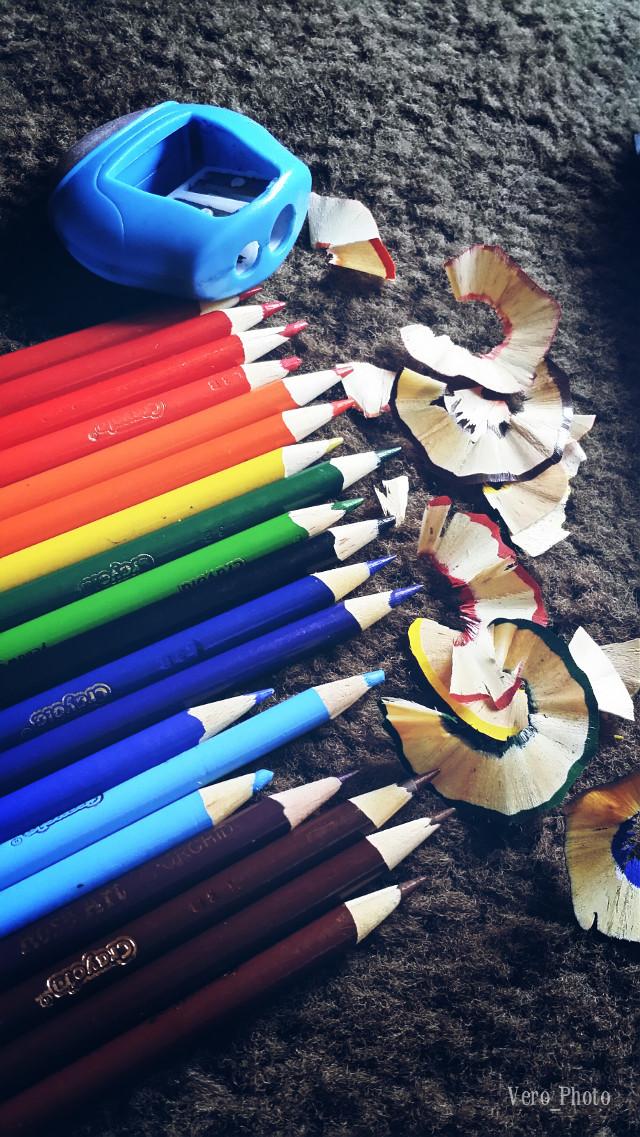 #pencil #colorful