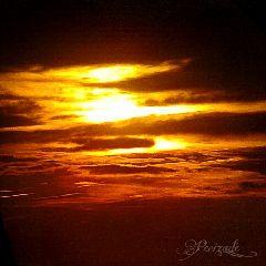 nature summer sunset clouds