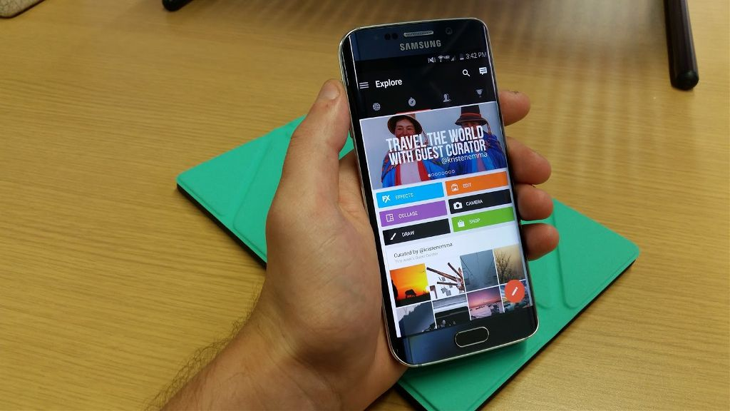 Samsung Galaxy S6 PicsArt Review