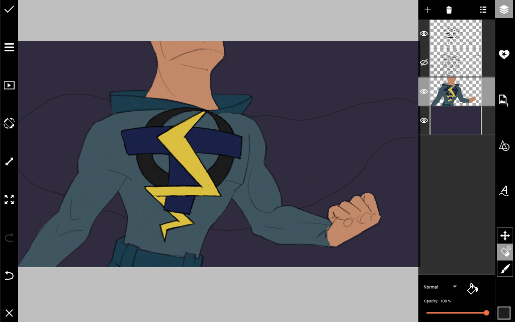 how to hraw superhero logos
