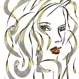 digital drawing portrait beauty kimferris