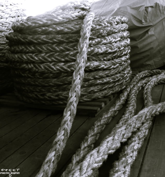 Chains do not hold a marriage together.. It's thread, hundreds of tiny threads which sew people together through the years..   #photography #blackandwhite #quotesandsayings #relationship #thread #dailytag It's #rope 😜  I make relationships more stronger while using ropes instead of threads 😂😁😅