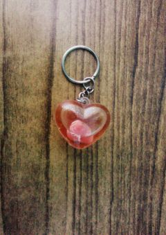 freetoedit keychain heart love red