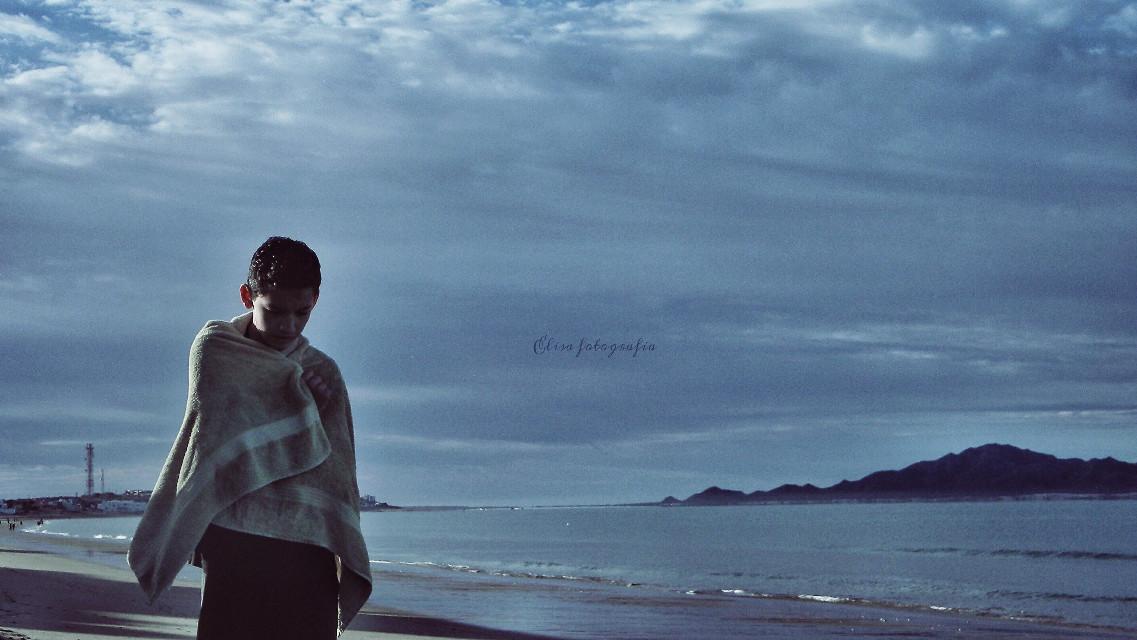 A cold vintage summer... a sad #summerstory  #vintage #beach #cold