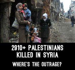 syria war refugess palestinians islam