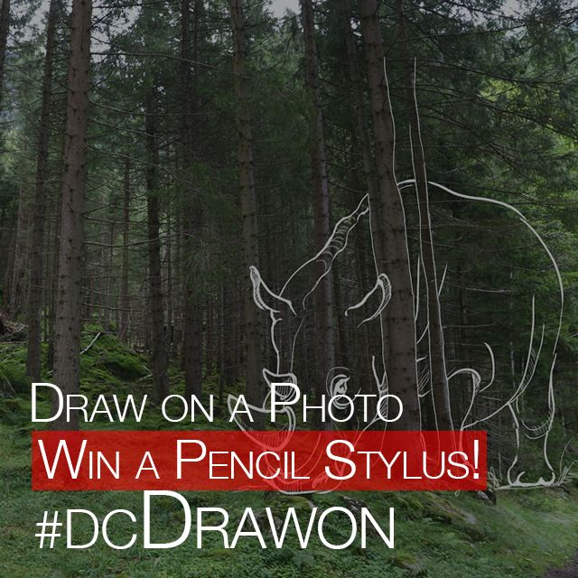 draw on a photo contest