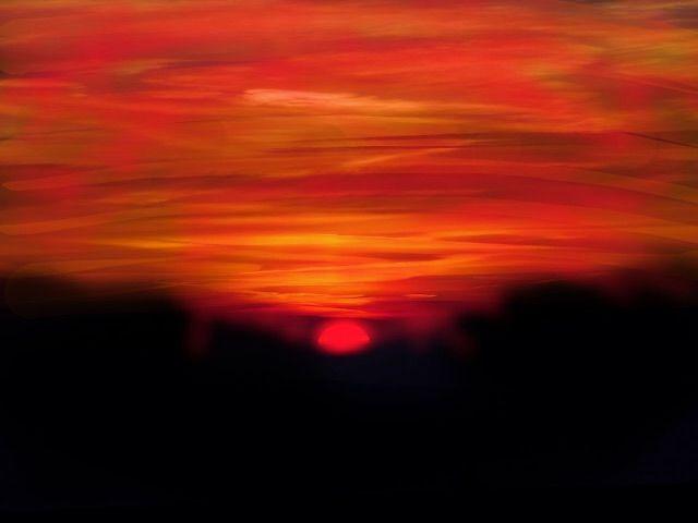 lol interesting sunset