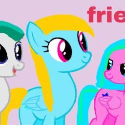 art pony ponyoc pegasus cute