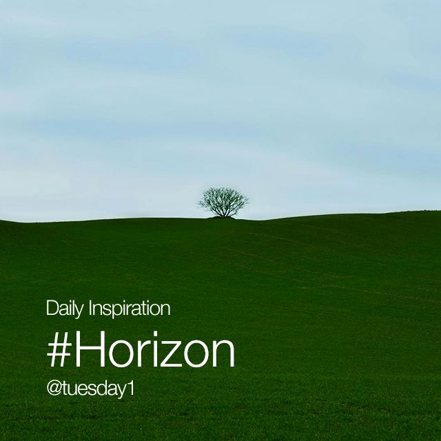 Wednesday Inspiration #Horizon