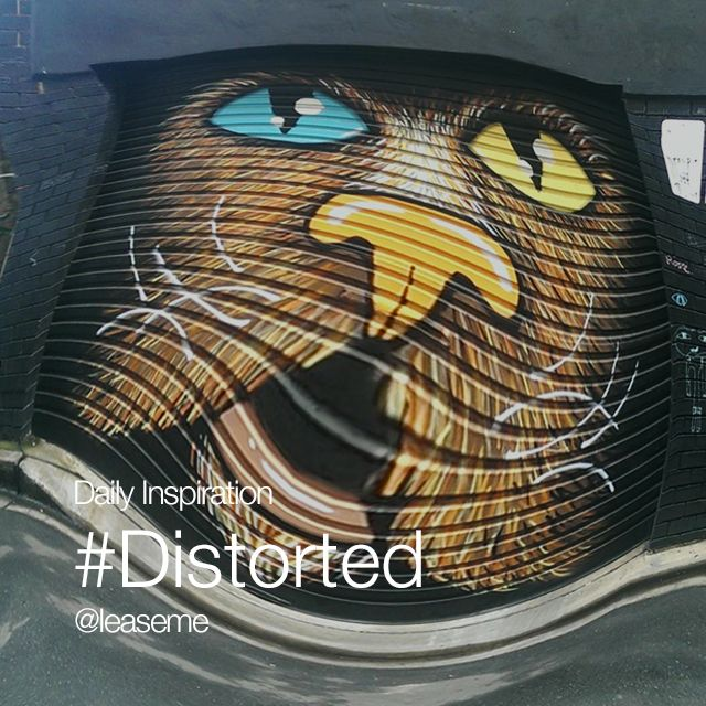 daily inspiration #Distorted