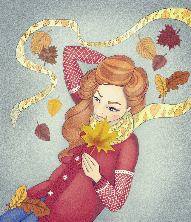 Defoliation  #art #digitalart #digitaldrawing #drawingwithsmartphone #drawing #sketch #illustration #nokialumia #рисуювтелефоне #рисунок #иллюстрация #autumn #leaves