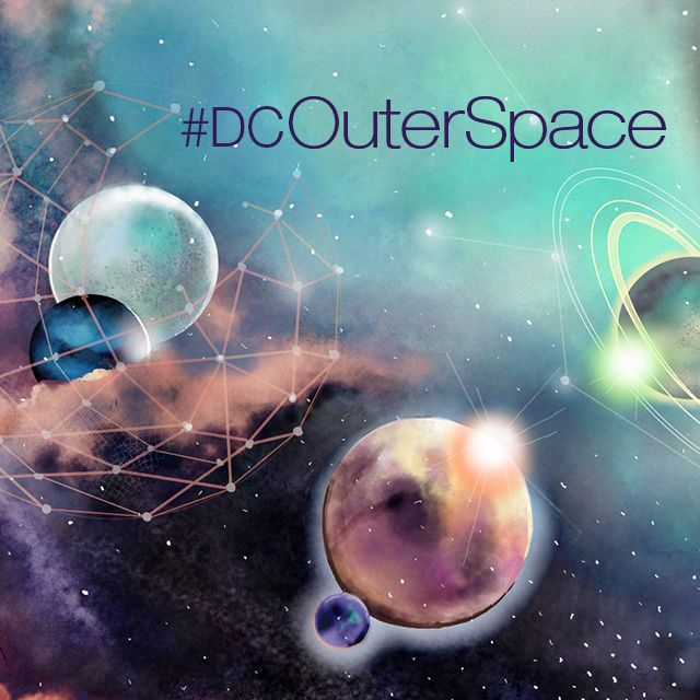 Outer space drawing contest